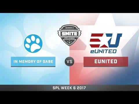 SPL Spring Split Week 6 In Memory of Gabe vs. eUnited Game 1