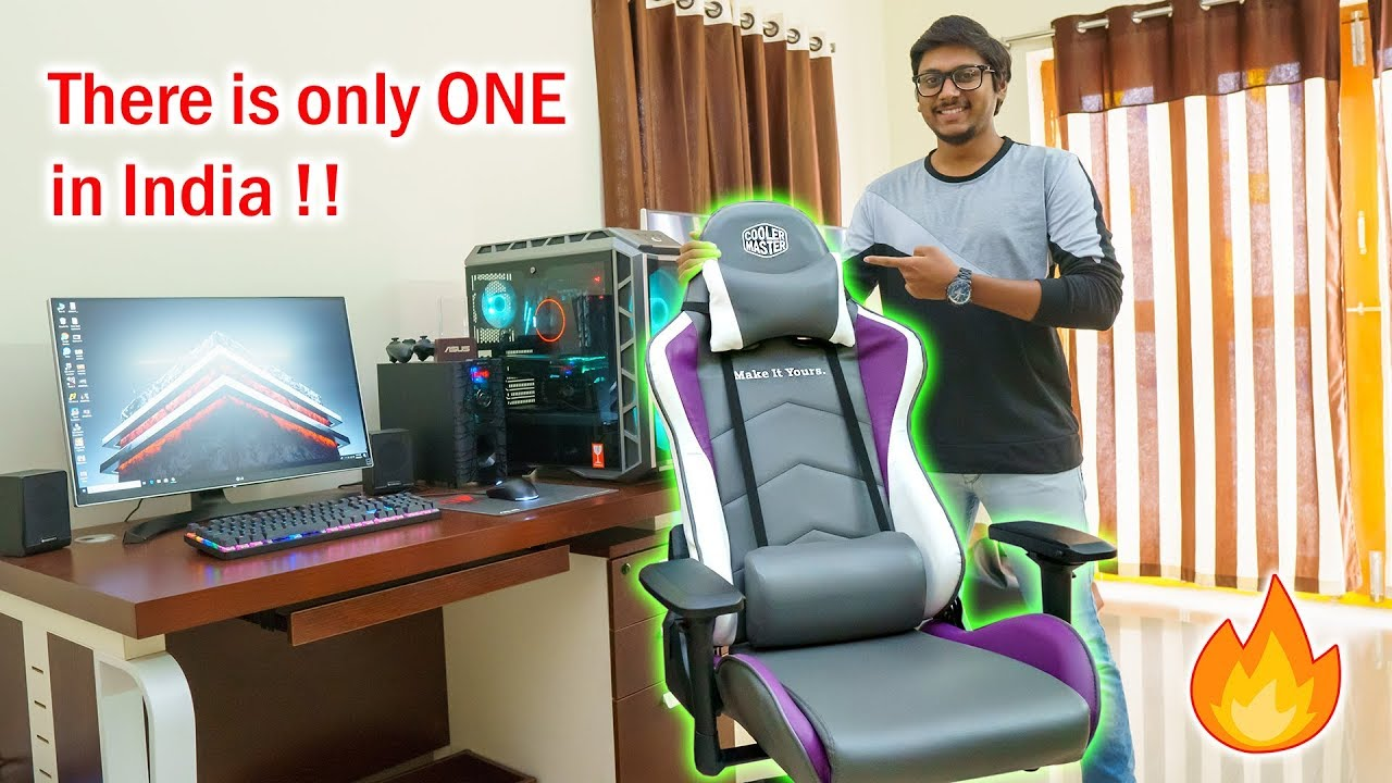 Cooler Master Sent Me A Special Gaming Chair Youtube