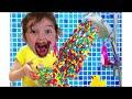 Nastya Story for kids about harmful sweets and candies Настя история про вредные сладости для детей