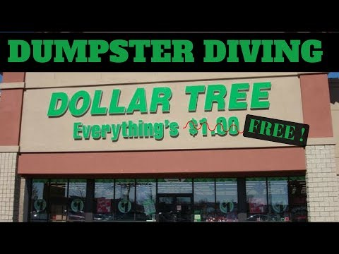 Dumpster Diving At Dollar Tree ! +GiveAway Winner ! - Dumpster Dive Night #28