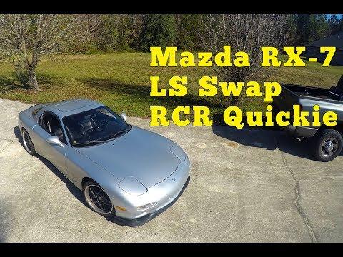 Mazda RX 7 FD LS Swap: RCR Quickie