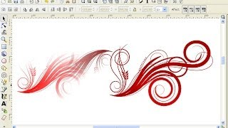 How to Make Swirl or Ornament Using Inkscape
