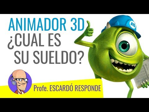 ANIMADOR 3D ¿Cuánto Dinero Obtiene Por Su Trabajo?