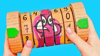 How to Build Money Safe From Cardboard
