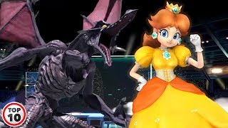Top 10 New Characters In Smash Bros Ultimate