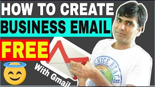 How to create a Free business Email setup with Gmail | 100% Free |professional email | webmail