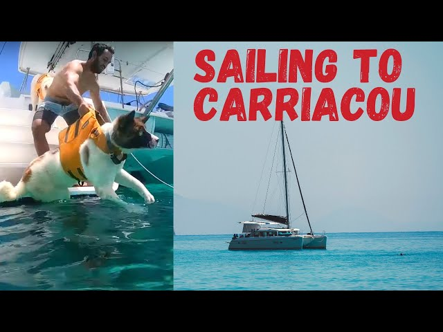 Catamaran Sailing from Grenada to Carriacou | The highs of boat life