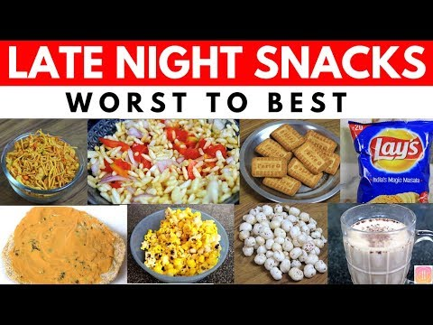 10 Late Night Snacks Options in India Ranked from Worst to Best