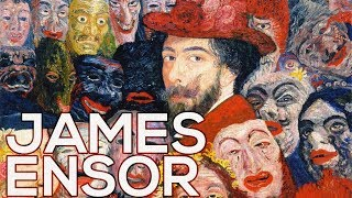 James Ensor: A collection of 148 works (HD)