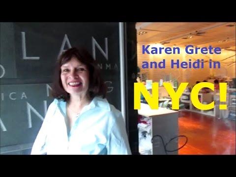 Karen Grete and Heidi in NYC! Travel Vlog!