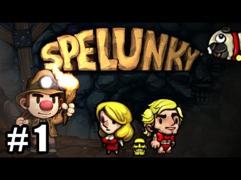 Juguemos Spelunky Ep. 1 - Cómo jugar y Tutorial