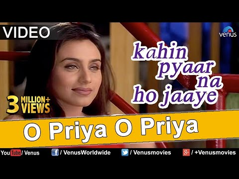O Priya O Priya - VIDEO | Salman Khan, Rani Mukherjee | Kahin Pyaar Na Ho Jaaye | Superhit Love Song