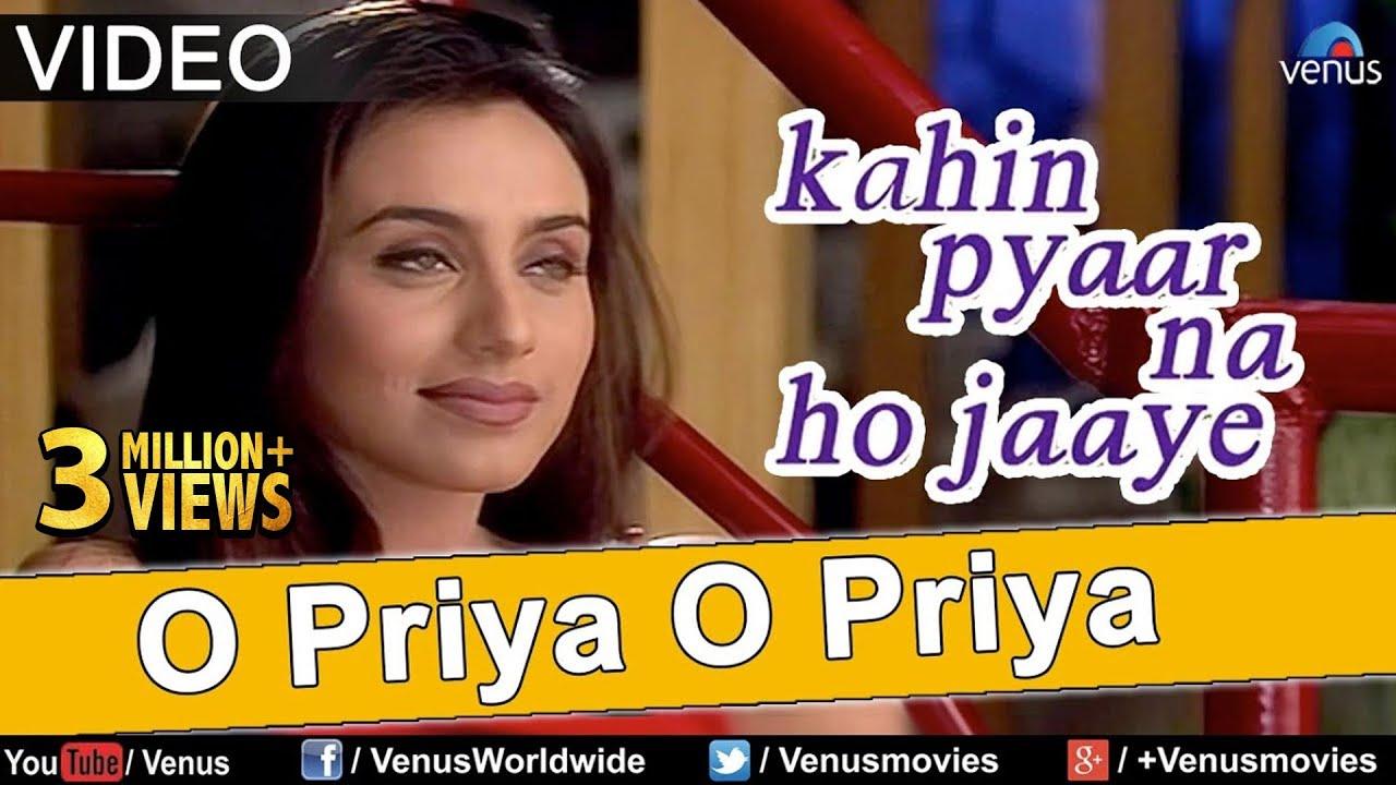 Download O Priya O Priya - VIDEO | Salman Khan, Rani Mukherjee | Kahin Pyaar Na Ho Jaaye | Superhit Love Song