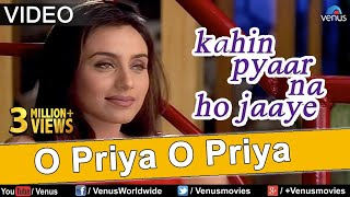 O priya song from the hit bollywood movie kahin pyaar na ho jaaye. starring salman khan, rani mukherjee, jackie shroff, raveena tandon & directed by ...