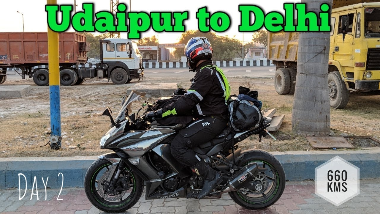 Riding in Extreme Cold | Udaipur to Delhi on Ninja 1000 & Triumph Tiger |