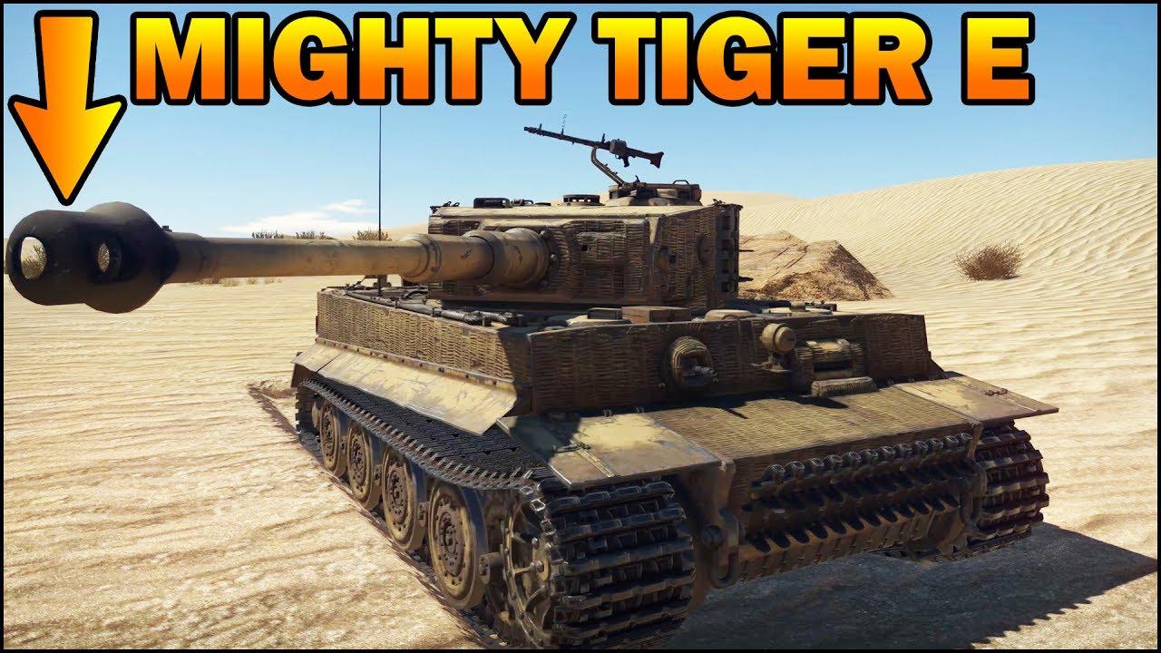 смотреть видео вар тандер на тигр
