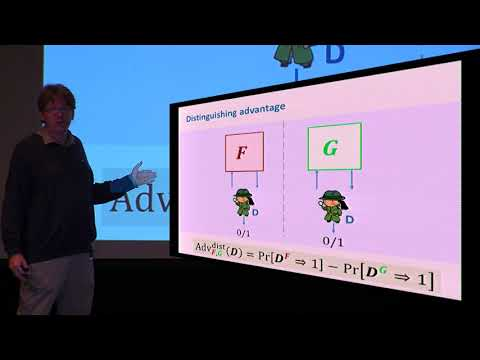 Information theoretic Indistinguishability via the Chi squared Method