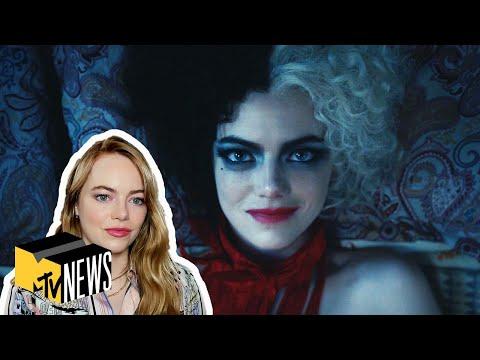 Emma Stone On Becoming 'Cruella,' Spider-Man Rumors & MORE! 👠 MTV News