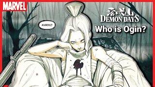 Myth Meets Marvel   DEMON DAYS: MARIKO Breakdown & Details! Who is OGIN?