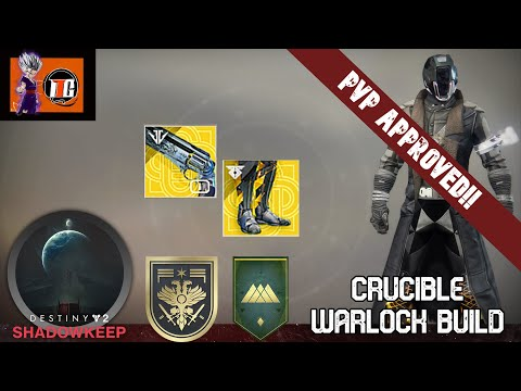 DESTINY 2 BUILDS [] My Personal PVP/Crucible Loadout (Tier 10 Mobility Warlock)