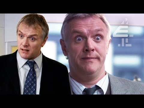 Mr Gilbert's Funniest Moments! | Best Of The Inbetweeners | Series 1-3