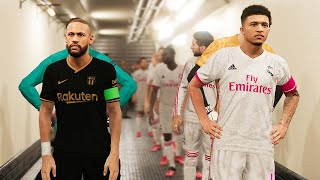 This video is the gameplay of barcelona vs real madrid - new kits 2020/21 potential lineup if you want to support on patreon https://www.patreon.com/pesme ...