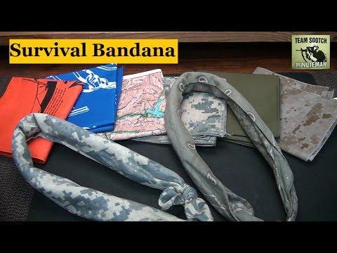Survival Bandana : 40 Uses