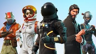 FORTNITE-ALL ITEMS OF SEASON 3-Skins, dances, picks, trails, parachutes, costumes