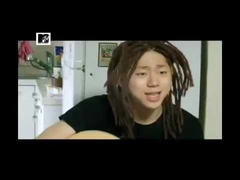 zicos morning craziness with his funny dreads amp guitar