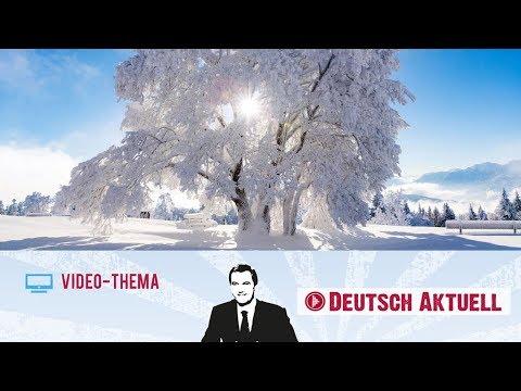 Schoner Winter Eis Schnee Und Gemutlichkeit Deutsch Lernen Mit