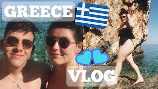 GREECE VLOG | PART ONE | Couples Holiday!