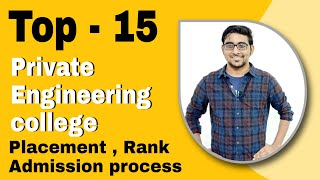 Top 10 private engineering college in India 2020 | Placement | Jee mains  2020 Counselling | Josaa