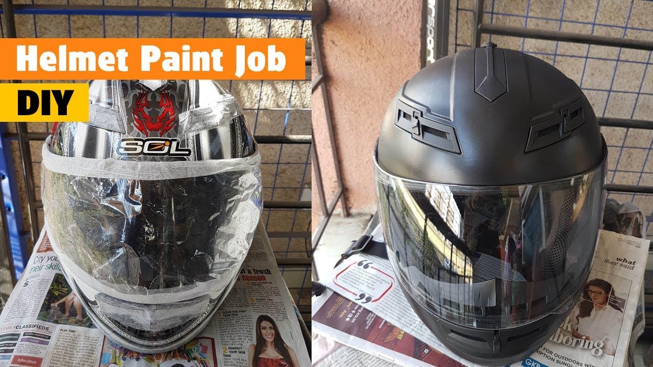 94ec040d DIY - Paint Your Helmet - YouTube