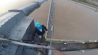 BNT 184 Running on The Highest Bridge in UK