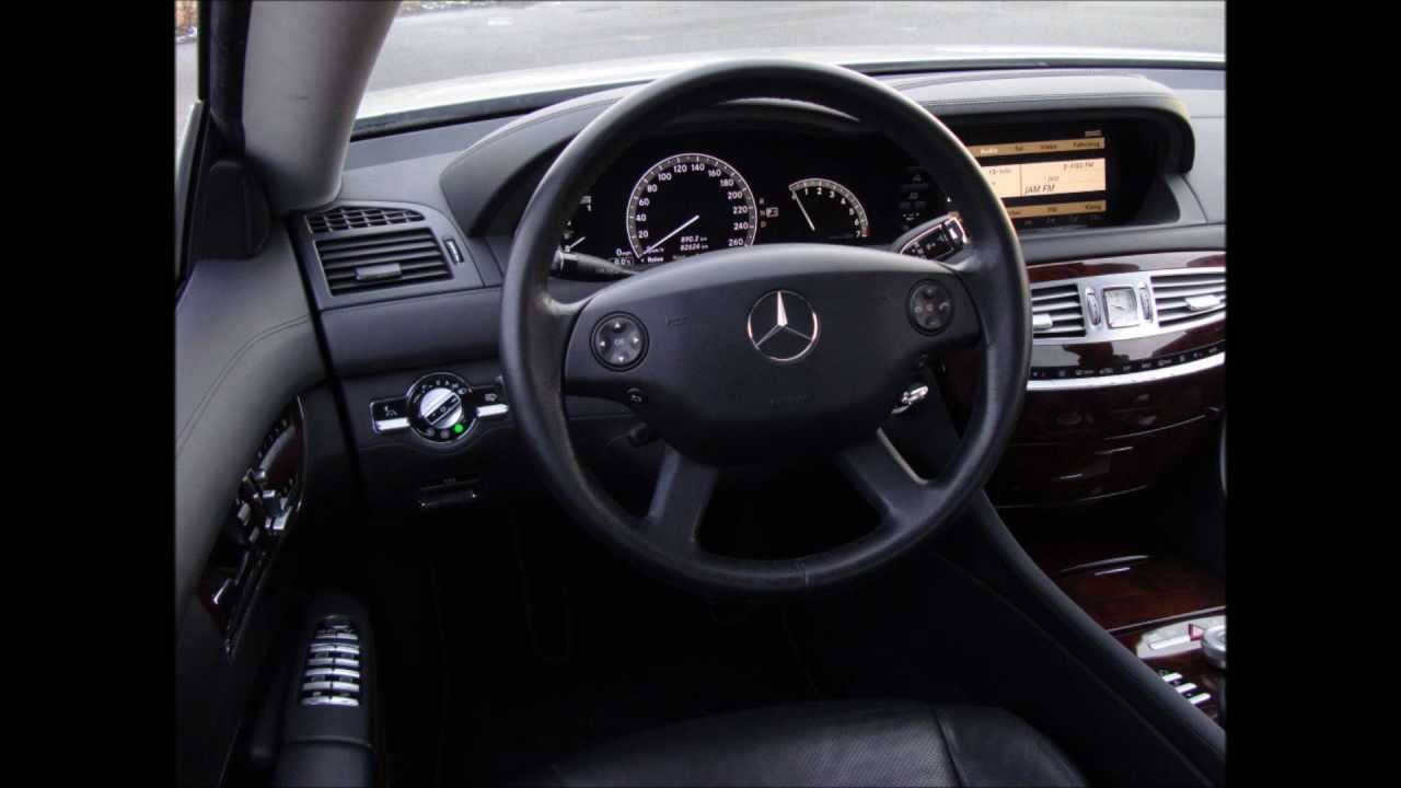 Mercedes Benz Cl 500 C216 Inside Interieur Interior