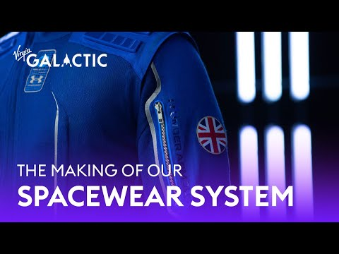 The Making Of The Virgin Galactic Spacewear System in Collaboration With Under Armour