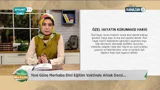 [Canlı Yayın] Yeni Güne Merhaba  Konuğumuz: Dini Yayınlar Genel Müdürü Dr. Fatih Kurt