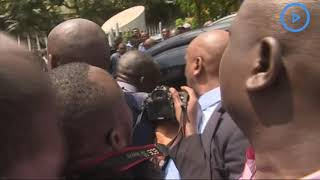 Chaos as Governor Sonko arrives at the Integrity center