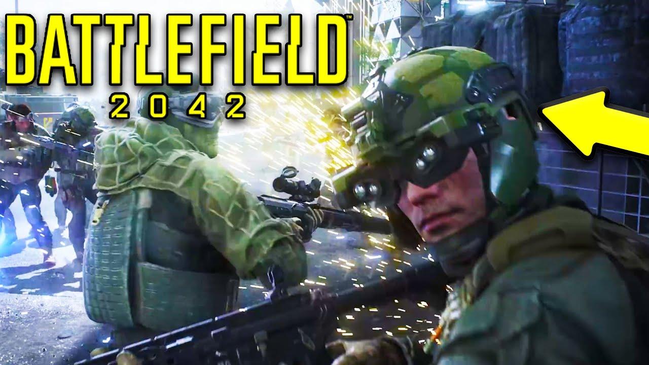 BATTLEFIELD 2042 MULTIPLAYER Details & Story! - BF2042 SPECIALIST ABILITIES & Lore! - Battlefield 6