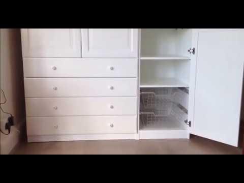 сборка шкафа икеа