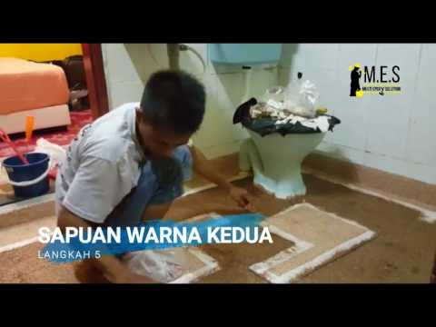 M.E.S - Epoxy Flooring Toilet