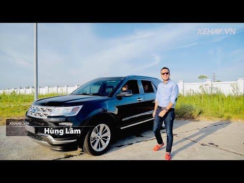 Hành trình trải nghiệm 1 ngày Hà Nội - Cát Bà với Ford Explorer 2019 |XEHAY.VN|