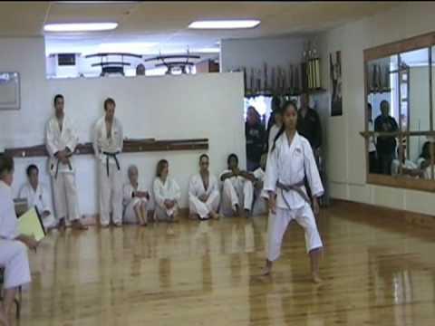 Isabelle Cabana's Black Belt Testing