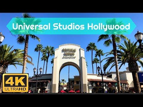 Universal Studios Hollywood in 4K! Los Angeles, California - October 2017