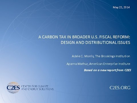 Carbon Pricing: State and Federal Options, Session I