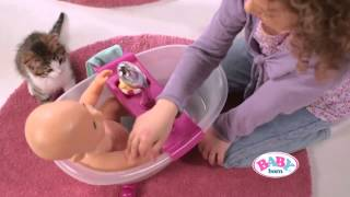 Zapf Creation - Baby Born Bathtub and Potty