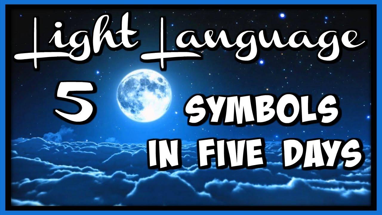 Light Language 5 Symbols In 5 Days Symbol 1 Youtube