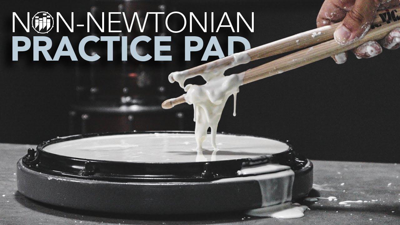 Um pad de treino com amido de milho e água? sim, é possível!