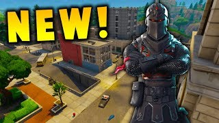 NEW CITY UPDATE GAMEPLAY! || 1 TIERS FOR BLACK KNIGHT || FORTNITE BATTLE ROYALE!