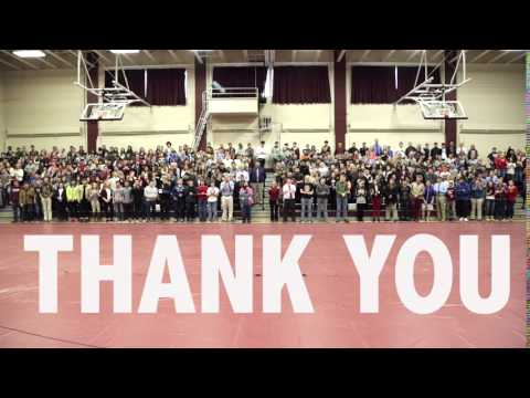 Thank You from Foxcroft Academy